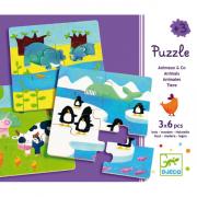 Puzzle - Állatcsaládok