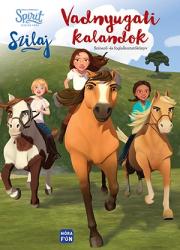 Szilaj - Vadnyugati kalandok - Spirit színező- és foglalkoztatókönyv