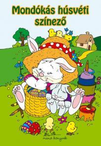 Mondókás húsvéti színező