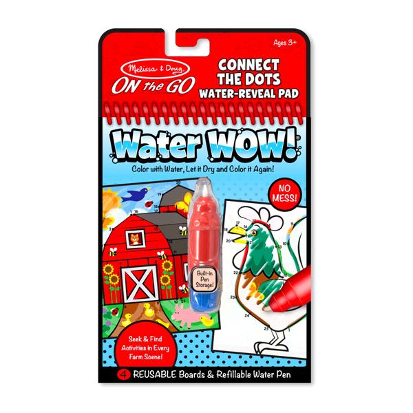 Rajzolás vízzel - Kösd össze a számokat!