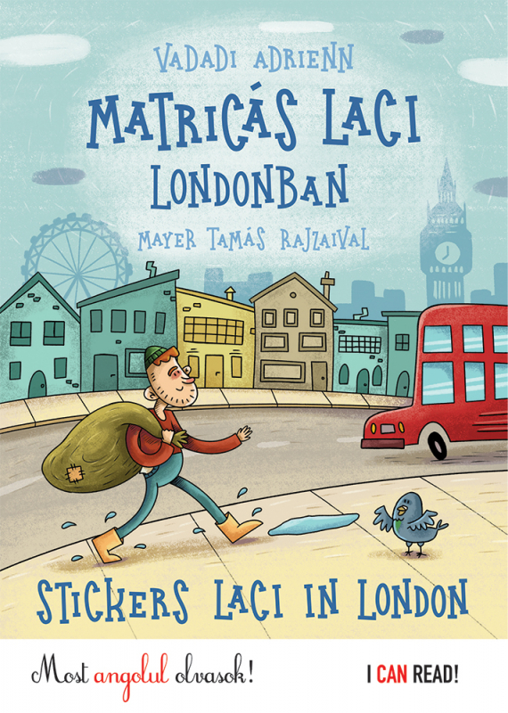 Matricás Laci Londonban - Stickers Laci in London