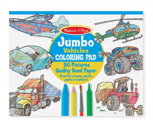 Jumbo színező - Járművek