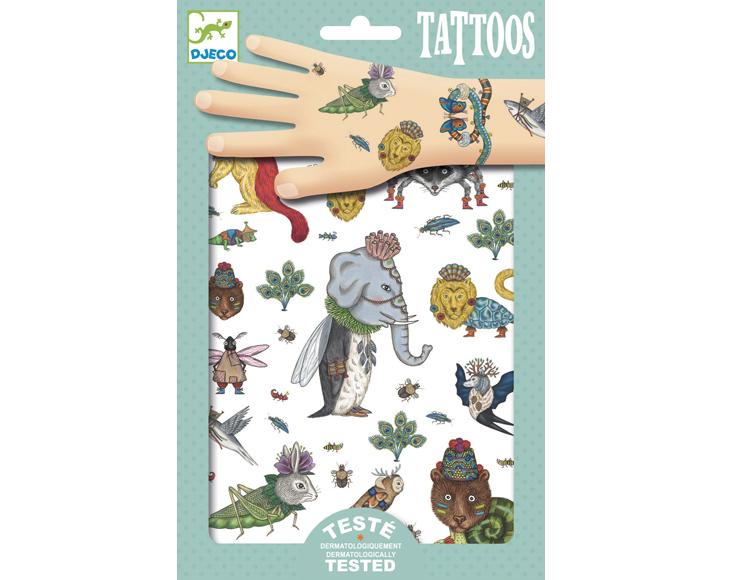 Tetoválás - Vadállatok