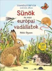 Sünök és más európai vadállatok - Természetbúvár matricás album