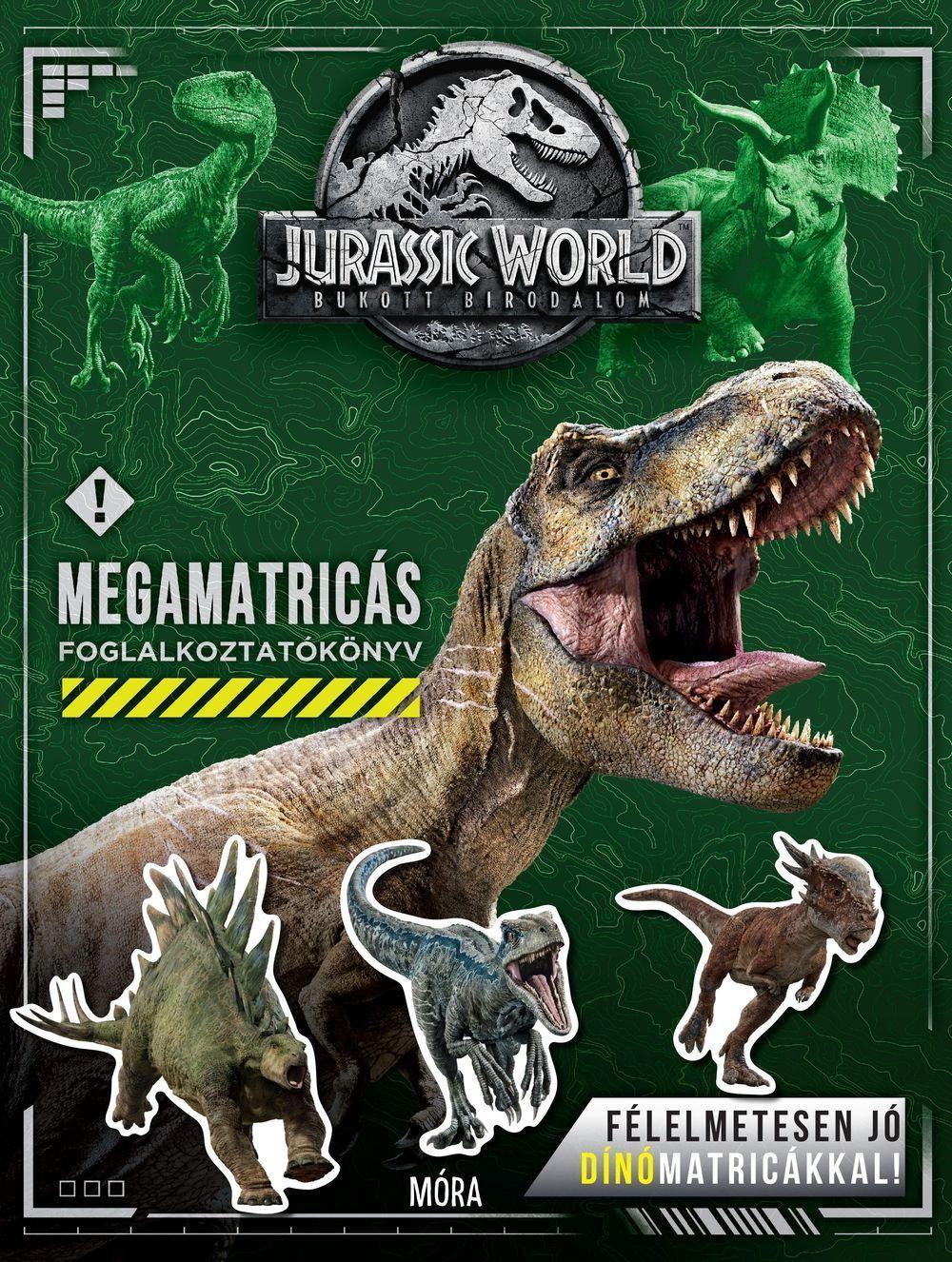 Jurassic World / Bukott Birodalom - Megamatricás foglalkoztató