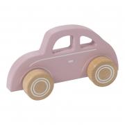 Fa játék autó - Beetle, pink