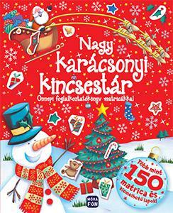 Nagy, karácsonyi kincsestár - Ünnepi foglalkoztatókönyv matricákkal