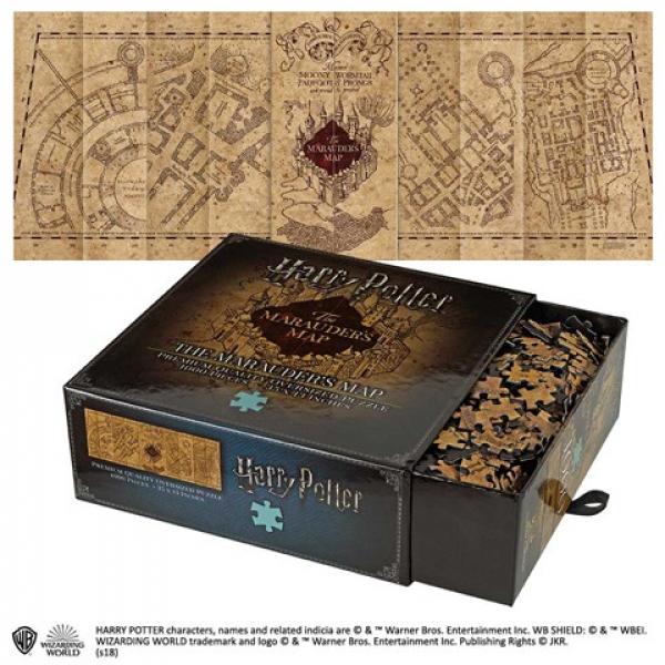 Harry Potter - Tekergők térképe puzzle