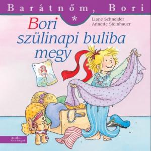 Bori szülinapi buliba megy - Barátnőm, Bori füzetek