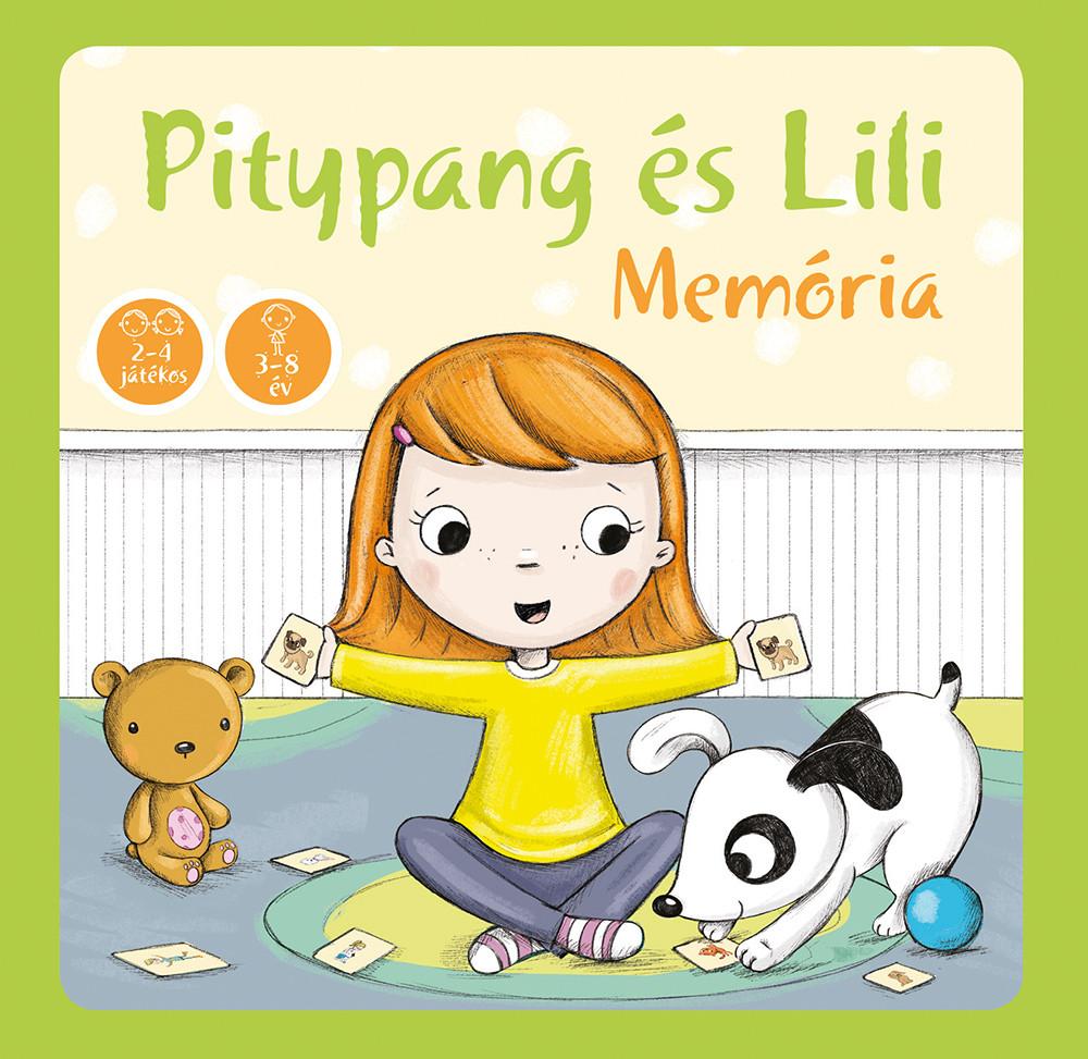 Pitypang és Lili memória - memóriajáték