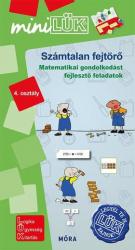 Számtalan fejtörő 4. osztály - Matematikai gondolkodást fejlesztő feladatok - LDI550 - miniLÜK