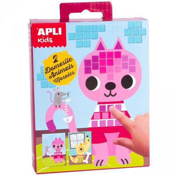 Mini Kit mozaiktechnika - háziállatok