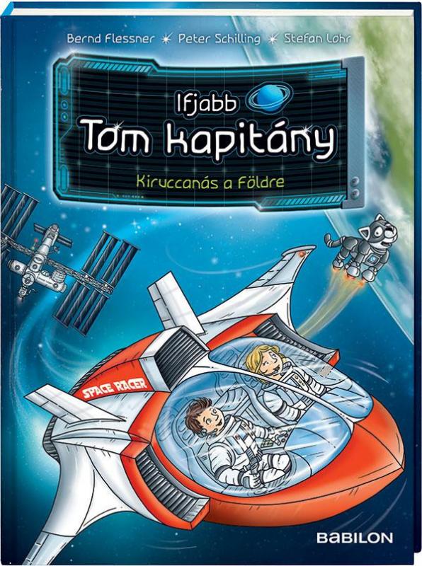 Ifjabb Tom kapitány 6. - Kaland a vörös bolygón