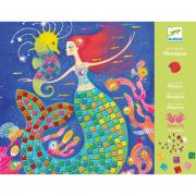Művészeti műhely - A sellő éneke mozaik készlet