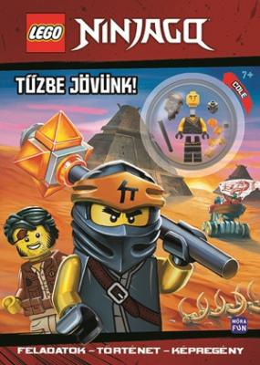 LEGO Ninjago - Tűzbe jövünk! - Foglalkoztatókönyv minifigurával
