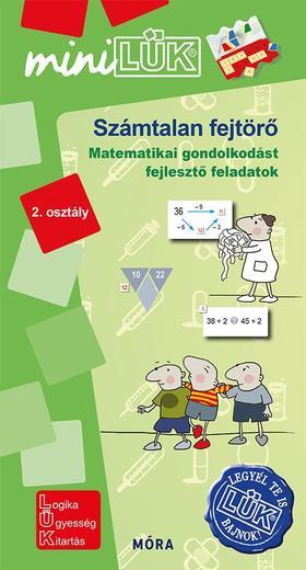 Számtalan fejtörő 2. osztály - Matematikai gondolkodást fejlesztő feladatok - LDI548 - miniLÜK