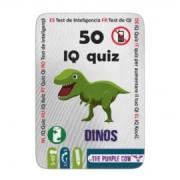 50 IQ kvíz: dinoszauruszok - foglalkoztató kártyák