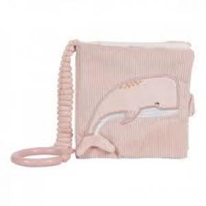 Plüss babakönyv - Tengeri állatok - Pink