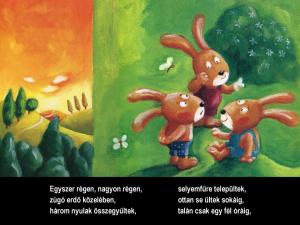 A három nyúl - Szalma Edit rajzaival