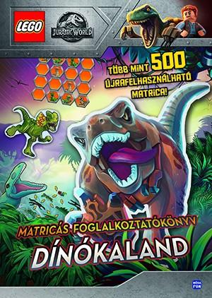 LEGO Jurassic World - Dínókaland - Matricás foglalkoztatókönyv