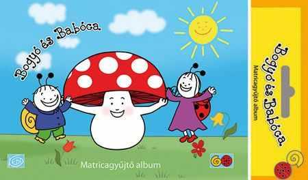 Bogyó és Babóca matricagyűjtő album - Gomba kalapja