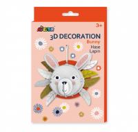 3D dekorációs puzzle - Nyuszi