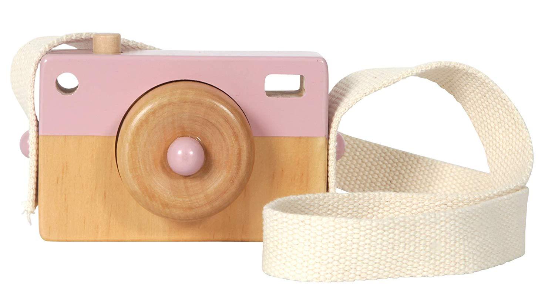 Fa fényképezőgép - Pink