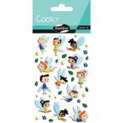 Cooky 3D matricák - Tündérkék