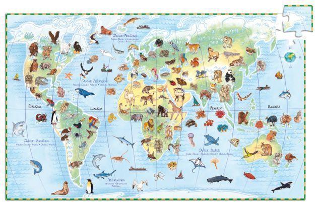 Böngésző Puzzle - A Föld állatai