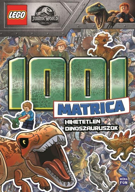LEGO Jurassic World - 1001 matrica - Hihetetlen dinoszauruszok