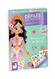 Öltöztető füzet - A világ hercegnői