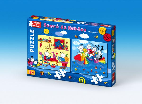 Bogyó és Babóca puzzle - Szivárványhal