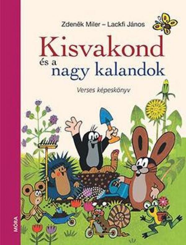 Kisvakond és a nagy kalandok - Verses képeskönyv