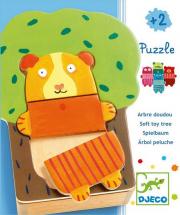 Cuki fa öltöztető - Tree cuddle puzzle