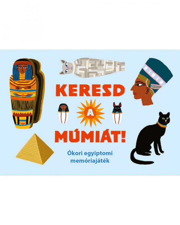 Keresd a múmiát! - Ókori egyiptomi memóriajáték