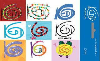Kedd design logós matricagyűjtő album