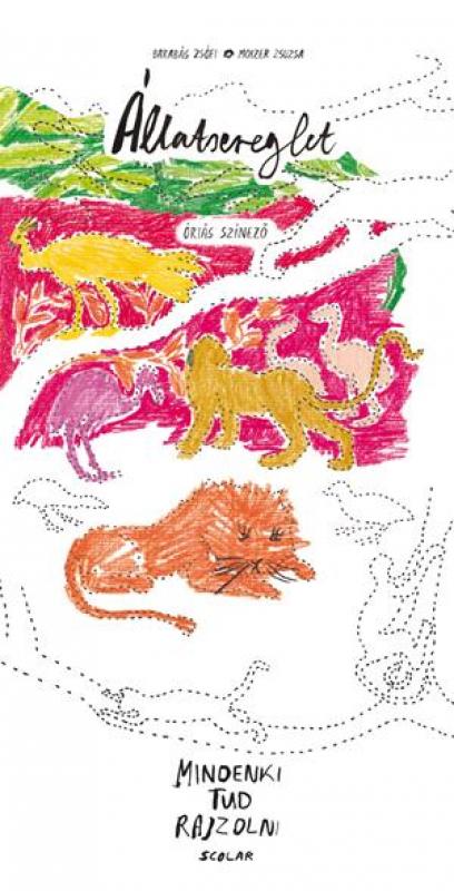Állatsereglet - Óriás színező - Mindenki tud rajzolni