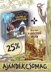 A Lidércerdő mélyén + Éjszaka az állatkertben társassal 25%-os kedvezménnyel!