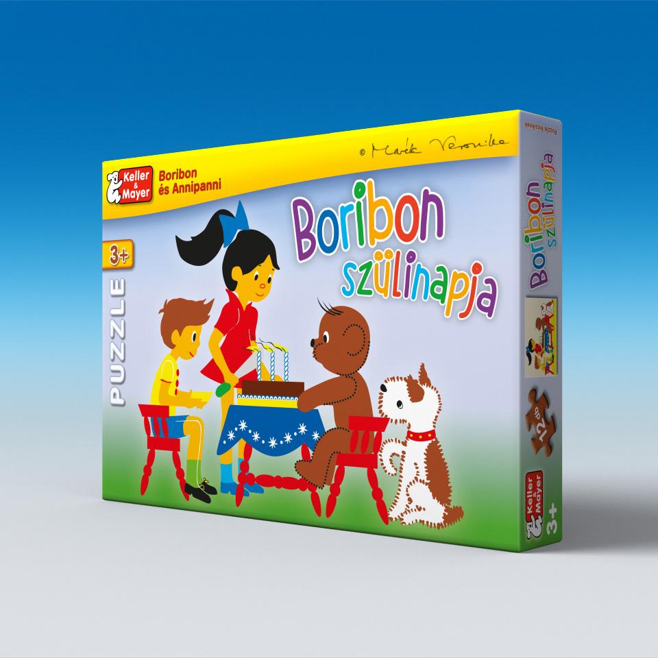 Boribon szülinapja - puzzle