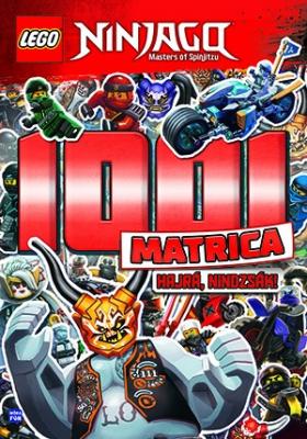 LEGO Ninjago - 1001 Matrica - Hajrá, nindzsák!