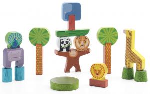 Fa építőelemek - Satcky jungle