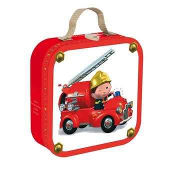 4 puzzle egy dobozban - Leon tűzoltóautója