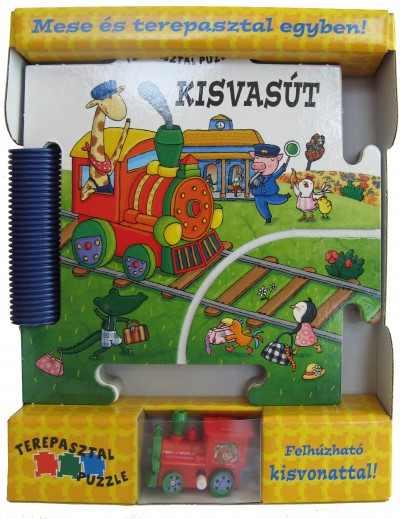 Kisvasút - Terepasztal puzzle