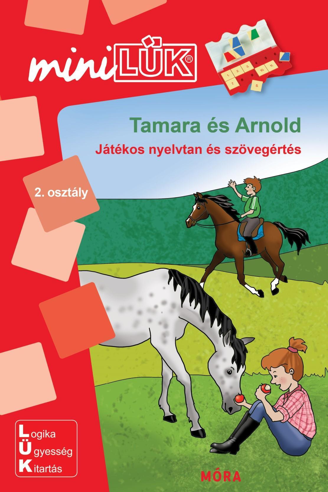 Tamara és Arnold - Játékos nyelvtan és szövegértés LDI260