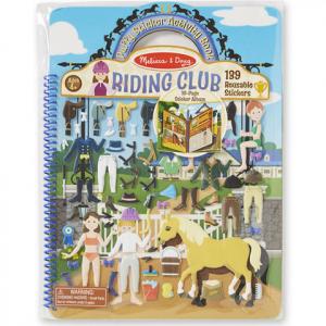 Pufi matricakészlet - lovas klub
