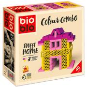 Bioblo építőjáték 40db-os  - Sweet Home