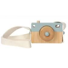 Fa fényképezőgép - Kék