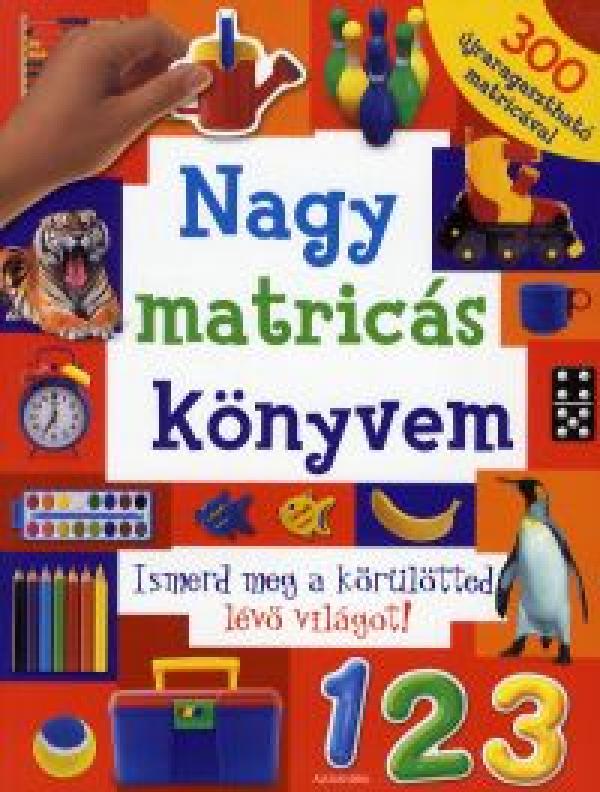 Nagy matricás könyvem