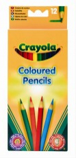 Crayola -  vastag színes ceruza, 12db