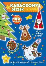 Karácsonyi díszek manóknak - matricás foglalkoztatókönyv